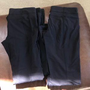 GUC Black Lululemon Groove Pants